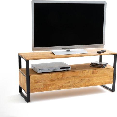 Hiba Solid Oak Tv Unit
