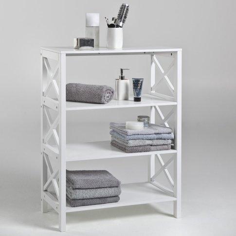 Majong 4-Shelf Bathroom Unit