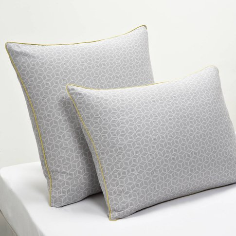 Kaiteki Geometric Cotton Pillowcase