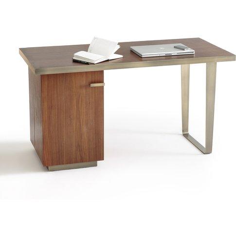 Gaston Retro Walnut Desk