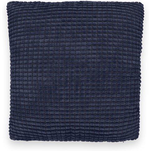 Fluffy Waffle-Cut Cushion Cover