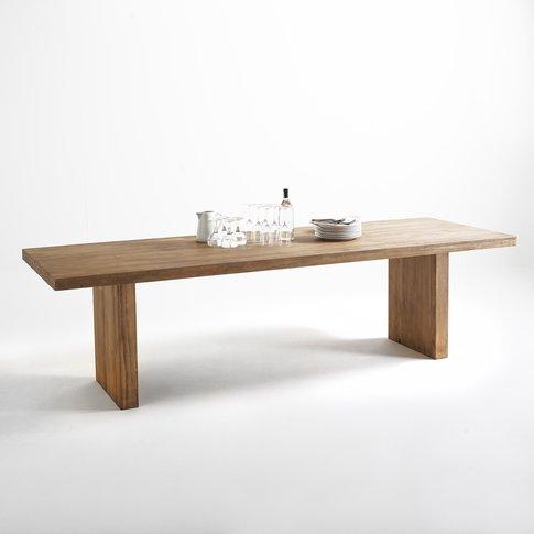 Malu Rectangular Dining Table Seats (8-10)