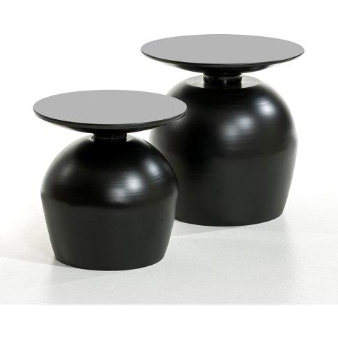 Lothar Metal Side Table