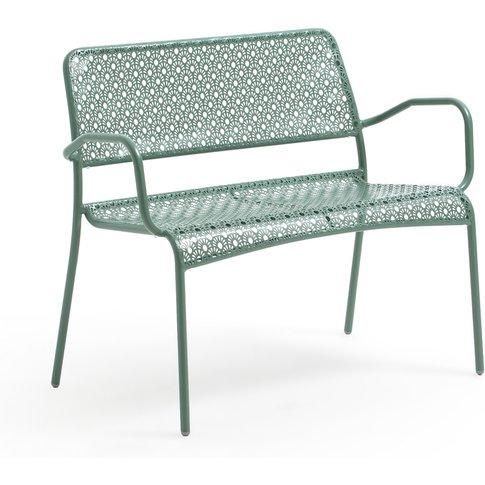 Malmo Metal Openwork 2-Seater Garden Bench
