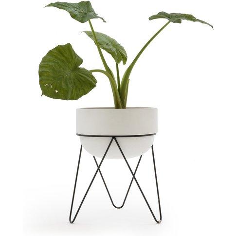 Plantae Ceramic Planter And Stand H54cm