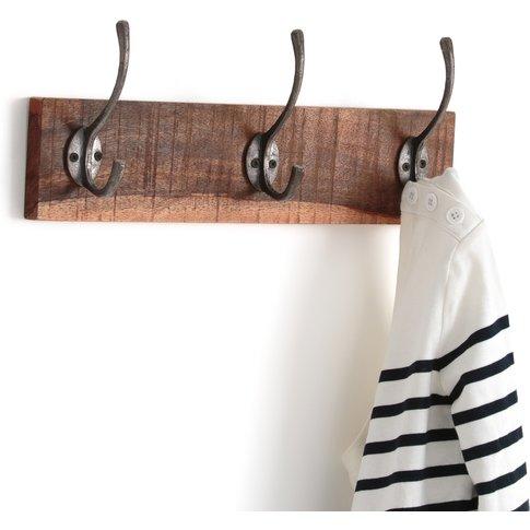 Wall-Mounted 3-hook Coat Rack