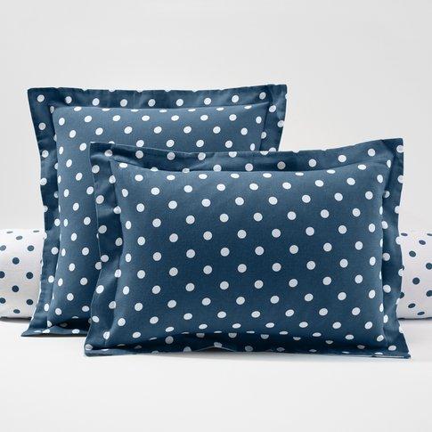 Clarisse Polka Dot Cotton Pillowcase