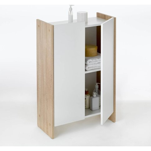 Banero 2-Door Low Bathroom Cabinet