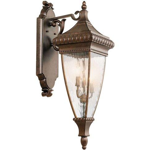 Ornate Venetian Rain Lantern Wall Light