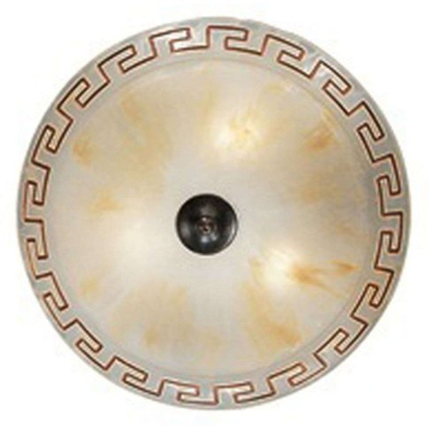 Two-Bulb Ceiling Light Greca, 40 Cm