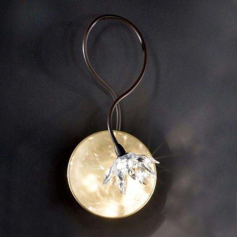 Fiorella Wall Light, One-Bulb, Clear