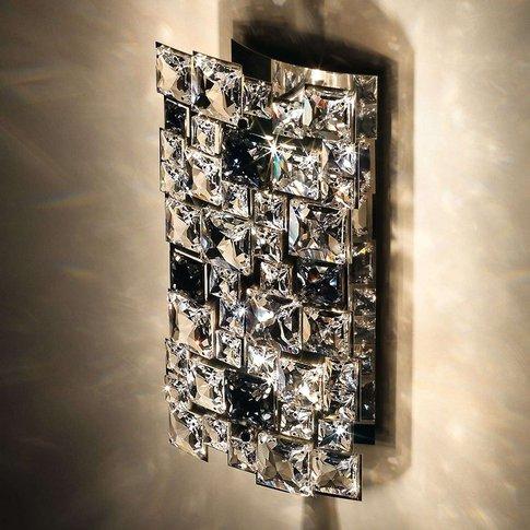 High-quality crystal wall light Mosaix