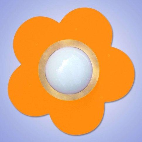 Decorative Orange Petit Fleur Ceiling Light