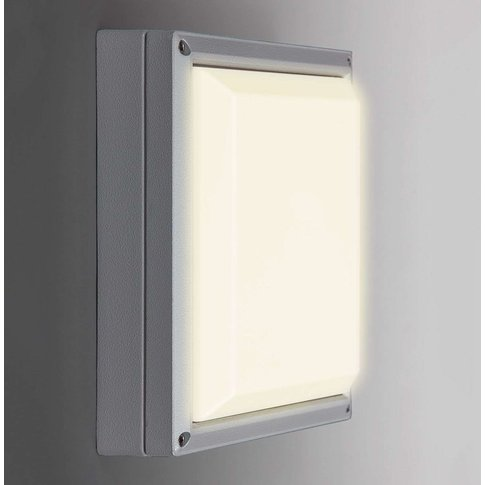 Sun 11 - Led Wall Light 13 W, Light Grey 3,000 K