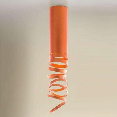 Artemide Decomposé Ceiling Light Orange