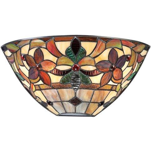 Colourful Wall Lamp Kami In A Tiffany Look