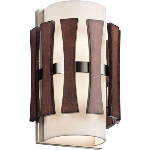Wooden Wall Light Cirus