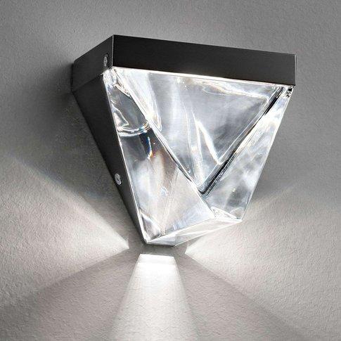 Sparkling Tripla Led Wall Light, Anthracite
