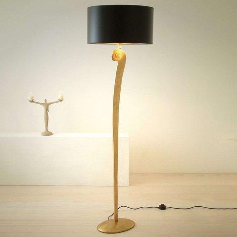 Elegant Floor Lamp Lorgolioso In Gold-Black