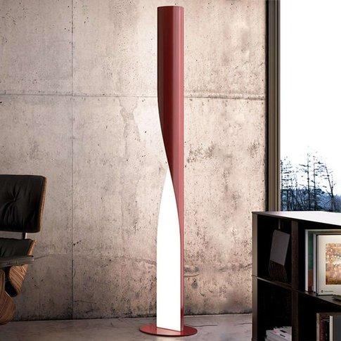 Kundalini Evita - Led Floor Lamp, Rot