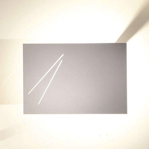 Knikerboker Des.Agn - Designer Wall Lamp, White