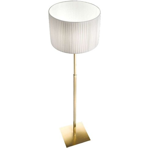 Sand - Floor Lamp With A Brass Frame