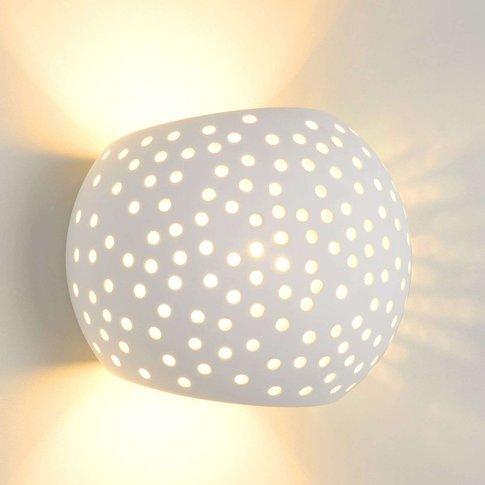 Impressive Gipsy Plaster Wall Light