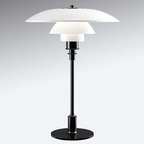 Louis Poulsen Ph 3 1/2-2 1/2 Table Lamp Black