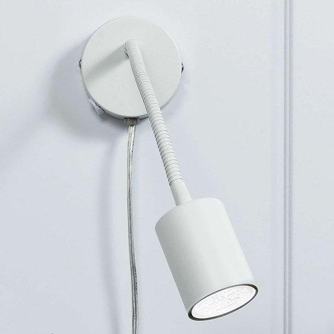 Explore - Flexible Led Wall Spotlight In White