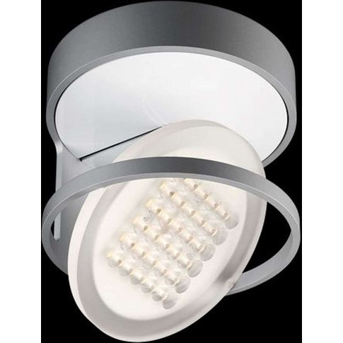 Nimbus Rim R 36 Led Ceiling Light, Tonic Silver