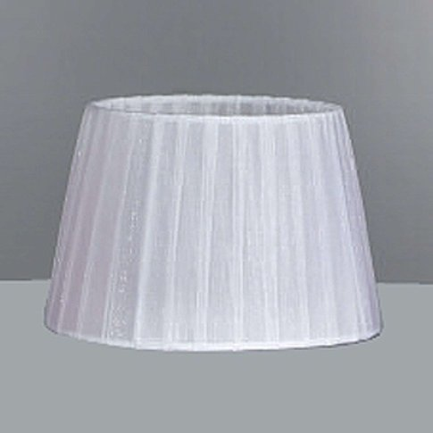 Large Organza Shade White