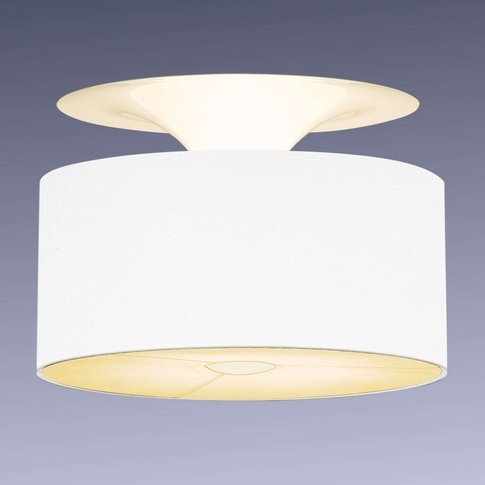 Onda - Ceiling Light With White Chintz Film