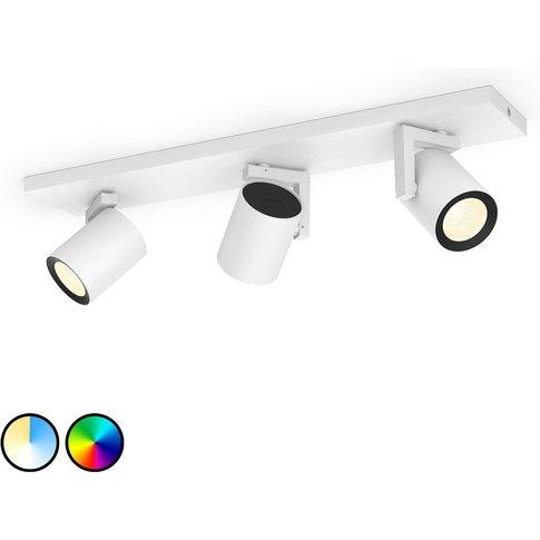 Philips Hue Argenta Led Spotlight, 3-Bulb White