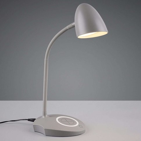 Load Led Table Lamp, Grey