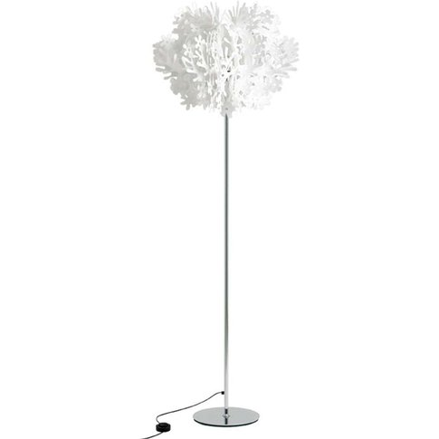 Fiorella Floor Lamp With Floral Elements
