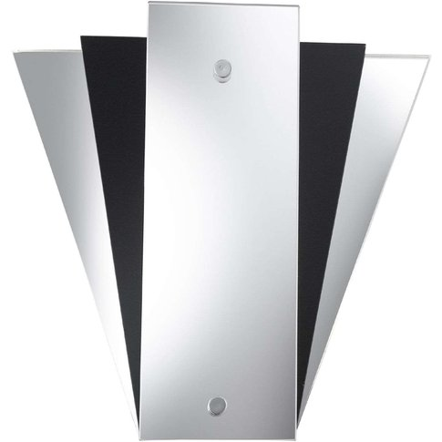 Modern Lewis Mirror-Wall Light, Black