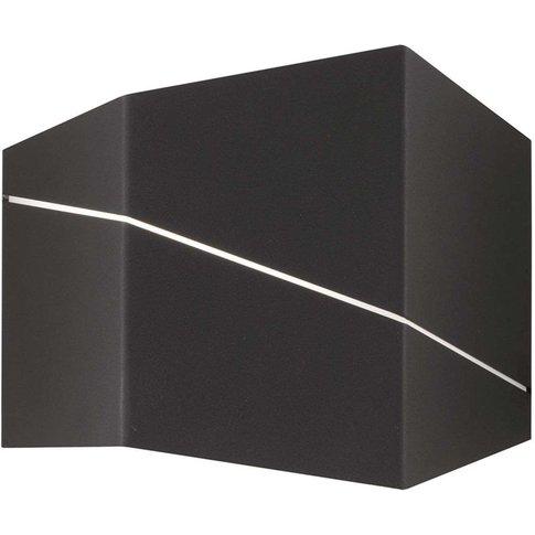 Zorro – Modern Led Wall Lamp, Matt Black, 18 Cm