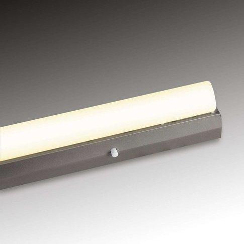 Batten Wall Light 35 W, Silver