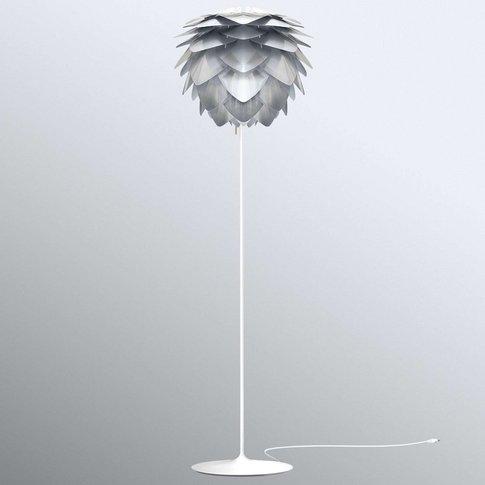 Umage Silvia Medium Floor Lamp, Steel