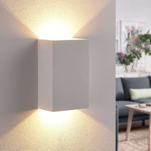 Jenke - Plaster Wall Lamp With Leds