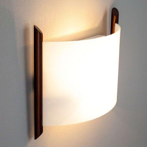 Wall Light Filippa, 31 Cm, Brown
