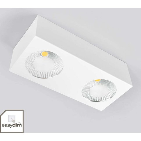 Two-Bulb Led Ceiling Spotlight Sonja, Dimmable