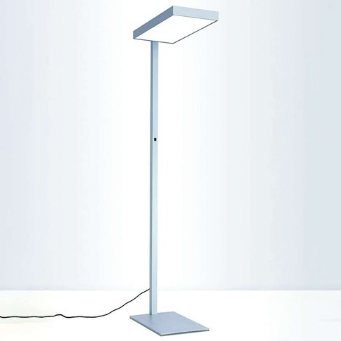 Cubic S2 Floor Lamp, Alu, Switch With 2 Levels