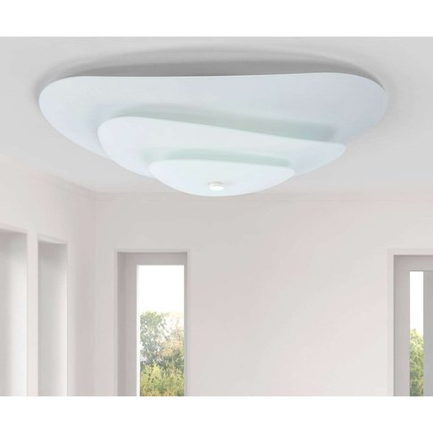 Moledro - A Ceiling Light With A Three-Part Shade