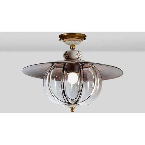 Handmade Lampara Ceiling Light In Country Style