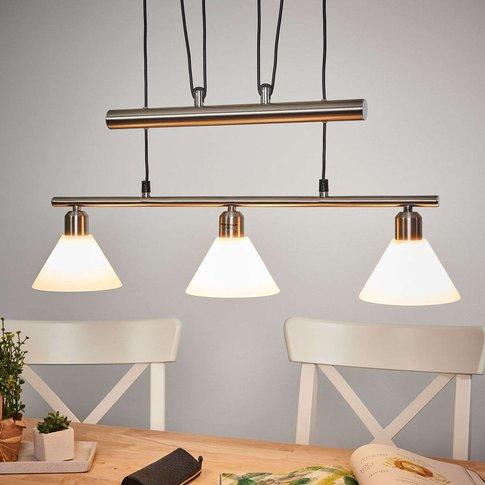 Height-Adjustable Pendant Light, 3-Bulb