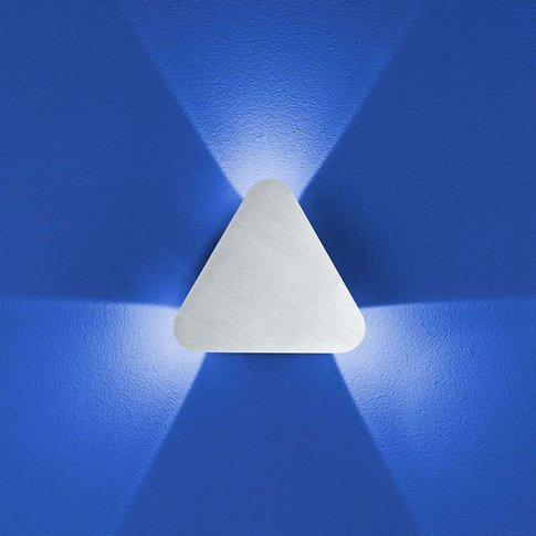 B-Leuchten Prince Wall Light Ip54, Triangular