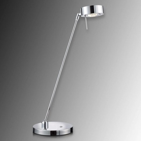 Double Jointed Led Table Lamp Elegance, Chrome