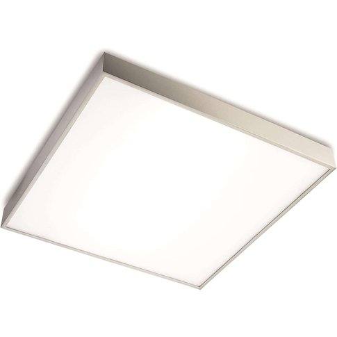 Ceiling Light Apolo Ip44, 50 Cm Nickel
