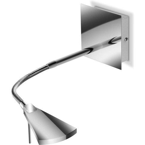 Flexible Led Wall Light Nec, Chrome